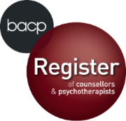 Professional profile. BACP Register logo